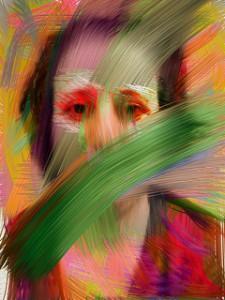 trauma-distorted face