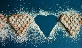 waffle-heart-mindful eating exercise