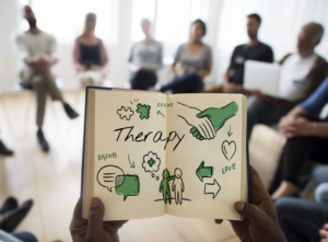 Addiction group therapy