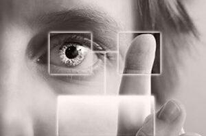 Close up image of woman's eye