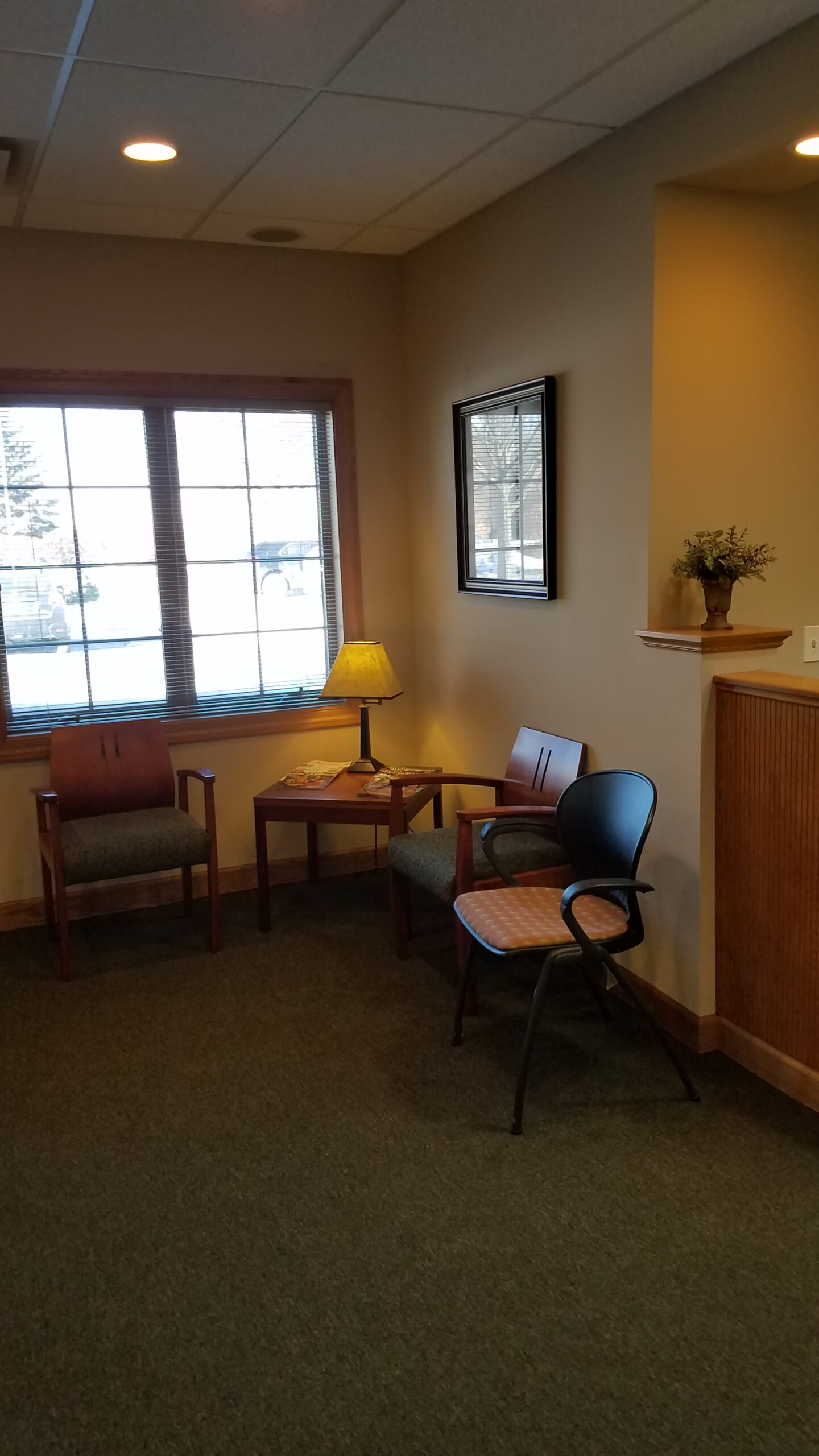 Sycamore Office Waiting Area
